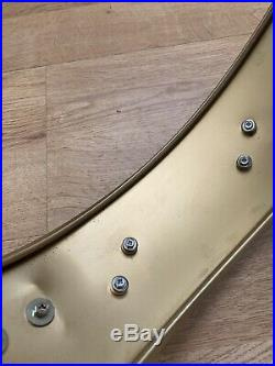 14 Premier Piccolo Vintage Gold Metal Snare Drum #130