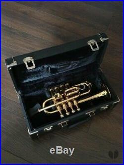 1972 Henri Selmer Paris Bb/A piccolo trumpet Maurice André, case GAMONBRASS