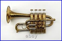 1983 Lacquer Bach 196 Bb/A Piccolo Trumpet