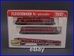 1/160 Spur N Fleischmann piccolo 7427 Dieseltriebwagen Baureihe 628 mit OVP
