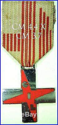 2026 Croce Al Merito G. I. L. Gioventù Italiana del Littorio mod. Piccolo cromato