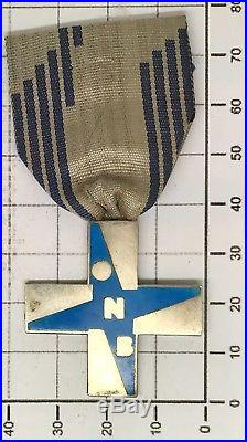 311 Croce Al Merito Opera Nazionale Balilla modello piccolo azzurro in argento