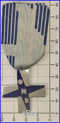 368 Croce Al Merito Opera Nazionale Balilla modello piccolo cromato