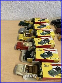 36x VW Käfer Piccolo Schuco Sammlung Modellautos Auflösung Brezel Volkswagen