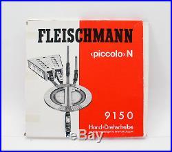40 tlg. Fleischmann Piccolo N Gleiskonvolut Gleise Weichen Drehscheibe etc