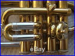 80`s Vincent Bach Stradivarius 196 piccolo trumpet GAMONBRASS
