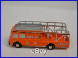 8  Schuco Piccolo 05892 Fiat 642 RN Bus Renntransporter Jägermeister Club 2007