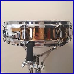 90s Ludwig Bronze 13x3 Piccolo Snare