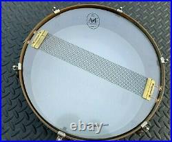 A&F Drum Co 3 X 13 Rude Boy Raw Brass Snare