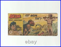 Akim Neue Abenteuer Piccolo Nr. 1 Original Walter Lehning Verlag 1956