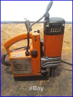 Alfra Piccolo Rotabest 38/50 Mag Drill Magnetic Boring Station Machine 110v