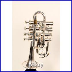 Amati ATR 383E Bb/A Piccolo Trumpet ATR 383ES Silver 888365672717