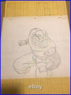 Animation Cel Background Dragon Ball Z Anime DBZ Production Art Piccolo F3855