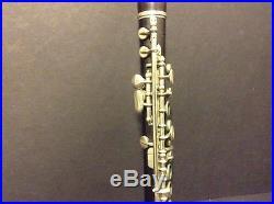 Antique Piccolo Flute Wooden Hawkes & Son London Circa 1850