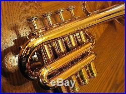 Antoine Courtois BbA Piccolo Trumpet (B flat/A) Sweet European Tone, Near Mint