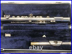 Armstrong Elkhart Piccolo Serial Number 34 63776 with Olds Case