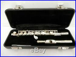 Armstrong Model 204 Silver Plated Piccolo with Case, USA Made