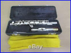 Armstrong Silver Plated Student Piccolo model #204 in Original Case