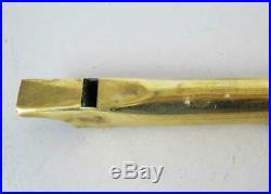 BRASS PENNY TIN IRISH VINTAGEWHISTLE LOW G VINTAGE circa 1900 flute fife piccolo