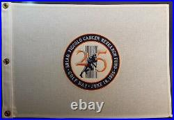 BRIAN PICCOLO Cancer Research Golf Flag Pennant 6/19/1995 Chicago Bears NFL