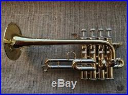 Bach Stradivarius AP190 ARTISAN Piccolo trumpet, original case GAMONBRASS
