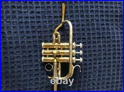 Bach Stradivarius Corporation Bb PICCOLO TRUMPET MODEL 311 BEAUTIFUL SOUND