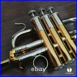 Bach Stradivarius Corporation Model 311 Bb PICCOLO TRUMPET, case GAMONBRASS