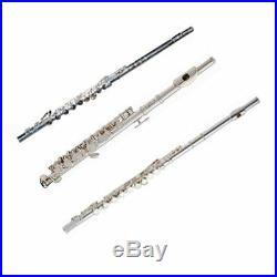 Band Directors Choice-SHOW DEMO Alto Flute, Silver Plated Flute & Piccolo