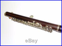 Beautiful Rudall Carte & Co Berners street London wooden Boehm Piccolo / Flute