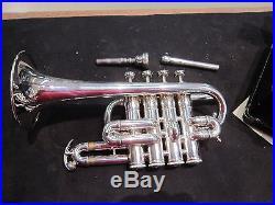 Benge Piccolo 4 Valve Trumpet With Case Bach 7E mouthpiece