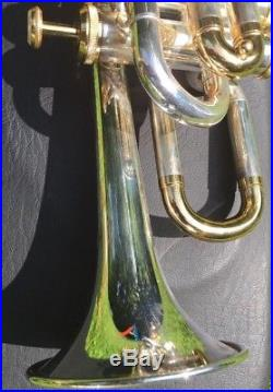Berkeley Silver Piccolo Trumpet WithMouthpiece