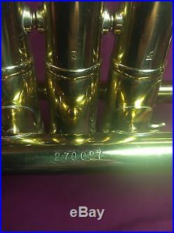 Besson D Trumpet 1955 excellent condition Baroque piccolo brass vintage London