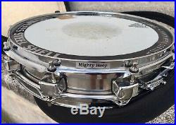 Caja Tama Power Metal Piccolo 14x3,25 Stainless Steel Snare. Case Included