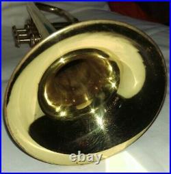 Cousnon Monopole Piccolo Small Bore Trumpet -Key of D- with all Original Parts