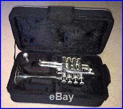 Dillon Bb/A 4-Valve Piccolo Trumpet in Silver Plate
