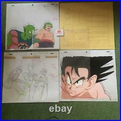 Dragon Ball Cel Picture Piccolo Goku Set Anime Akira Toriyama Rare