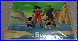 Dragon Ball Goku Gohan Piccolo Anime Production Cel picture Akira Toriyama m22