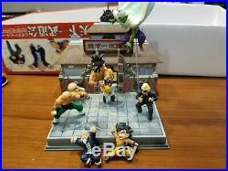 Dragon Ball Z Box Goku Gokou Piccolo Figure Tenkaichi Budokai Diorama set Rare