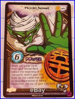 Dragon Ball Z DBZ CCG 125 Piccolo Sensei Limited Ultra Rare Card Kid Buu