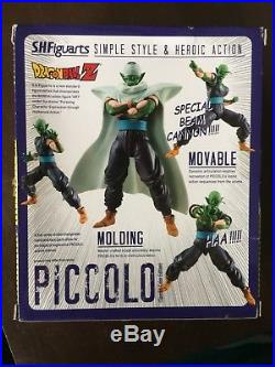 Dragonball DBZ Sh Figuarts 2013 SDCC Piccolo Special Color READ DESCRIPTION