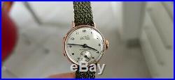 EBERHARD Chronometre ORO Rosa 18K Cassa a cerniera! Un piccolo GIOIELLO Vintage