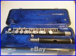 ELD Emorson USA Wood Piccolo Flute