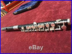 Emerson Piccolo GRENADILLA WOOD with Case Freshly Serviced