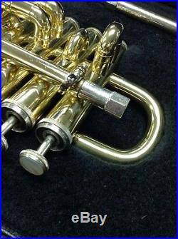 Eterna by Getzen Piccolo Trumpet Lacquer Eterna Series Bb/A USA