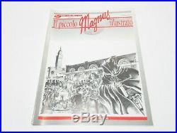 FANZINE IL PICCOLO MAGNUS ILLUSTRATO NUMERO # 0 GADGET RARITA' 1995 No Corno