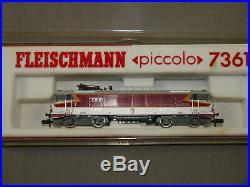 FLEISCHMANN 7361 TEE SNCF BB-15006 E- Lok piccolo Spur N (K77)7
