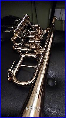 Finke rotary valve Bb / A piccolo trumpet