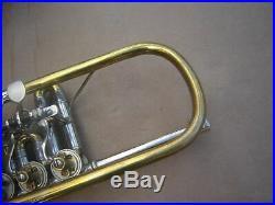 Finke trumpet with piccolo bell Mod. Prof. Ehmann