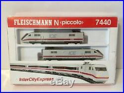 Fleischmann 7440 N (Piccolo) N Gauge InterCity Express ICE