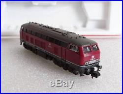 Fleischmann N Piccolo 7235 E-Lok Elektro Lokomotive DB 218 306-9 mit OVP